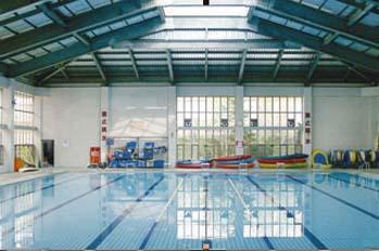 崇明县实验中学泳池热水